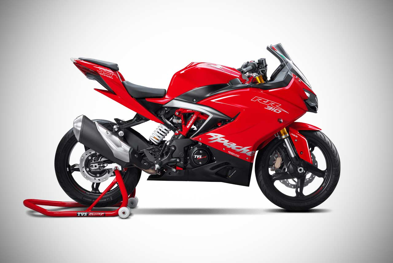 TVS Apache RR 310 Racing Red 2018 Right Side
