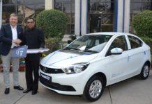 Tata Tigor EV Delivery 2017
