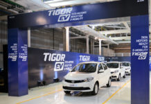Tata Tigor EV Roll out Sanand Factory