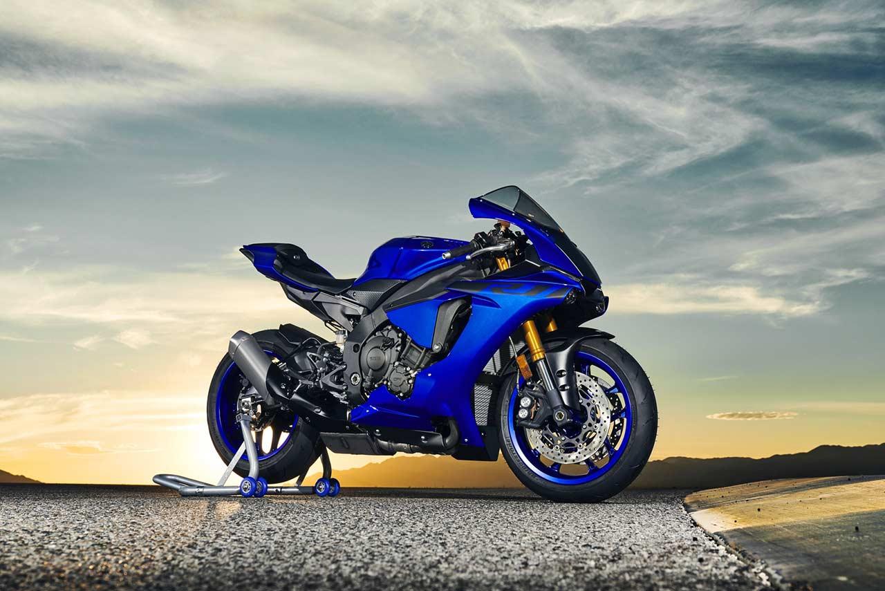 Yamaha R1 2018 Blue Autobics