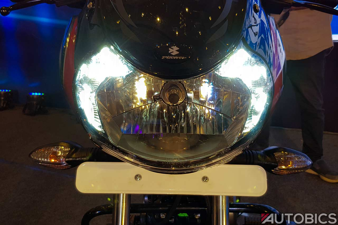 2018 Bajaj Discover 110 Headlamp Led Drl Autobics