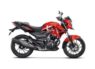 2018 Hero Xtreme 200R Sports Red