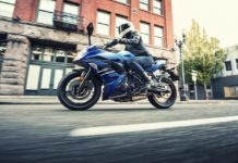 2018 Kawasaki Ninja 650 ABS Candy Plasma Blue Ride