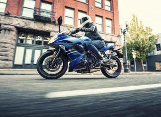 2018 Kawasaki Ninja 650 ABS Candy Plasma Blue Ride