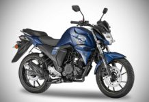 2018 New Yamaha FZS-FI Armada Blue Studio