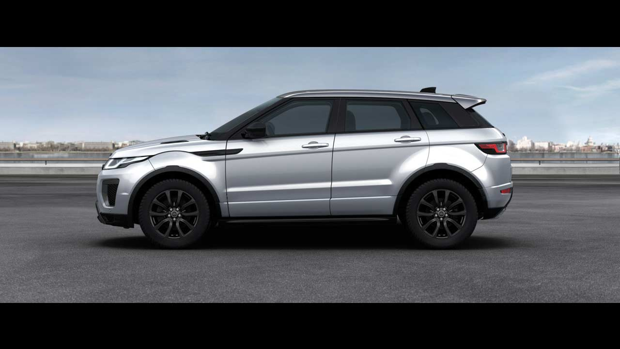 2018 Range Rover Evoque Landmark Edition Yulong White Metallic Side