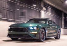 2019 Ford Mustang Bullitt Front Dynamic