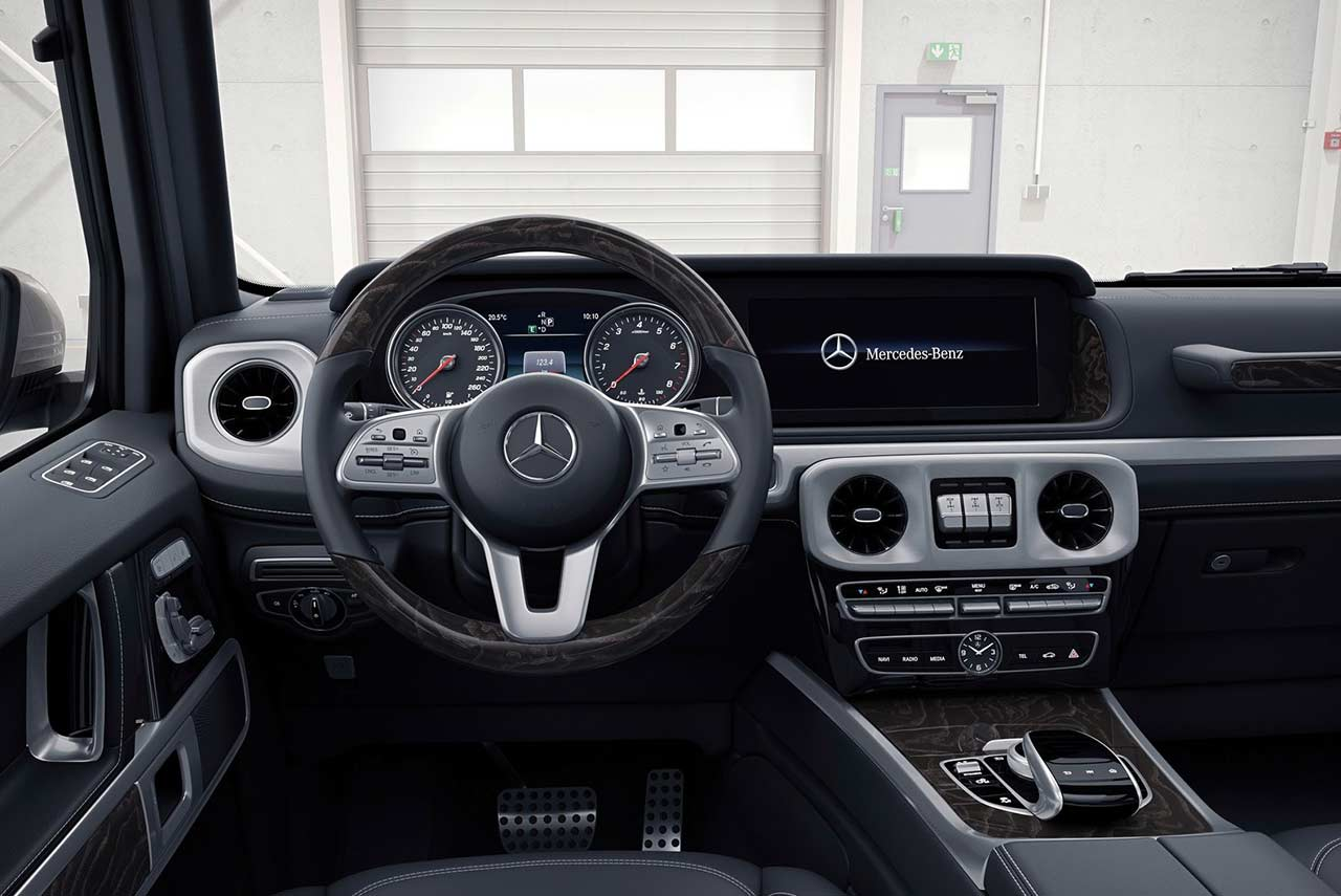 2019 Mercedes Benz G Class Interior Dashboard Autobics