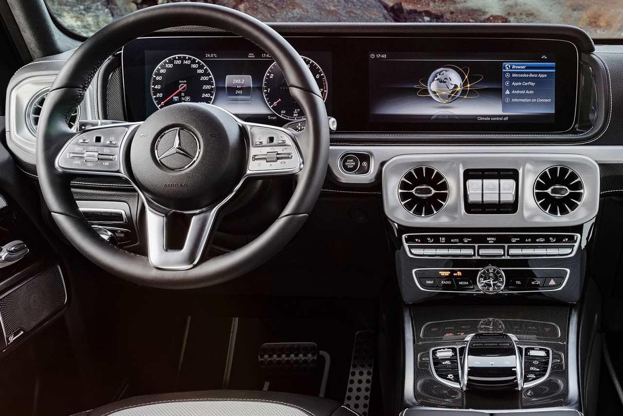 Mercedes Benz G Class Interior on Custom Mitsubishi Expo