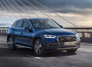 Audi Q5 Front Right 2018