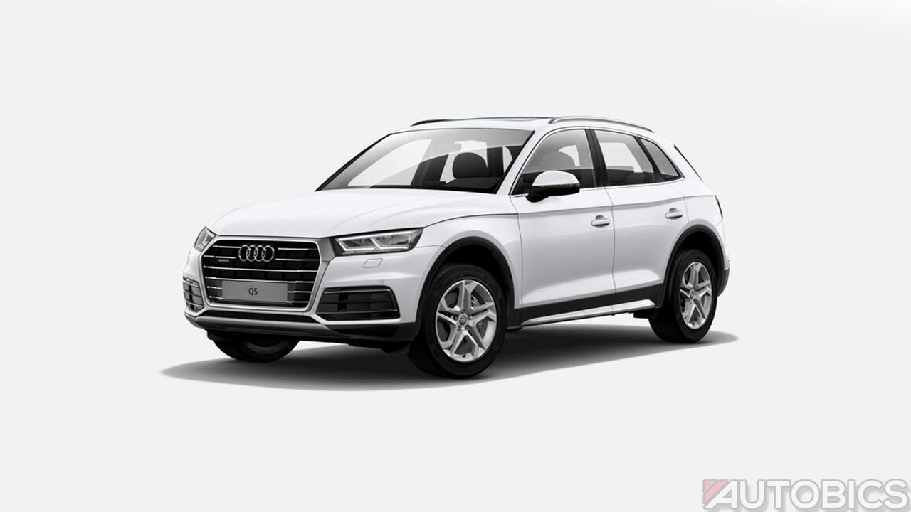 Audi Q5 Ibis White 2018 Autobics