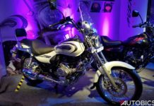 Bajaj Avenger 220 Cruise 2018 Moon White Side
