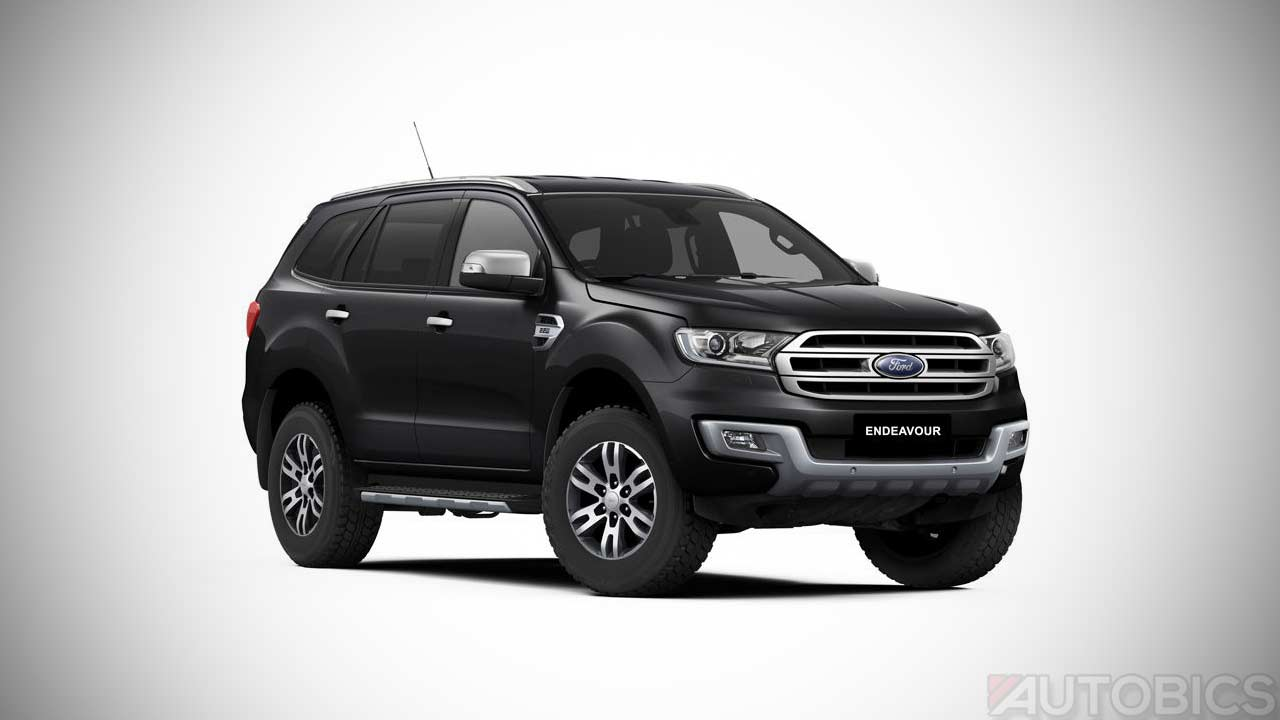 Ford Endeavour 2.2L with Panoramic Sunroof Launched - AUTOBICS