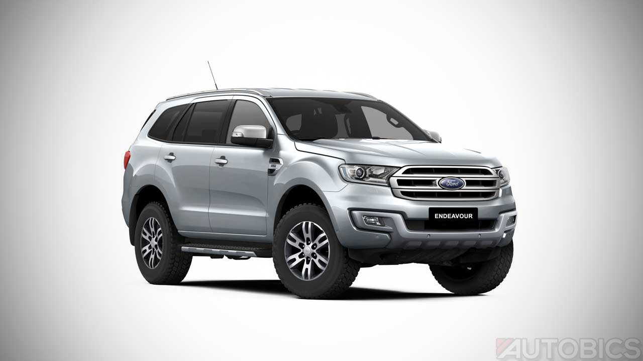 Ford Endeavour Moondust Silver Colour Autobics