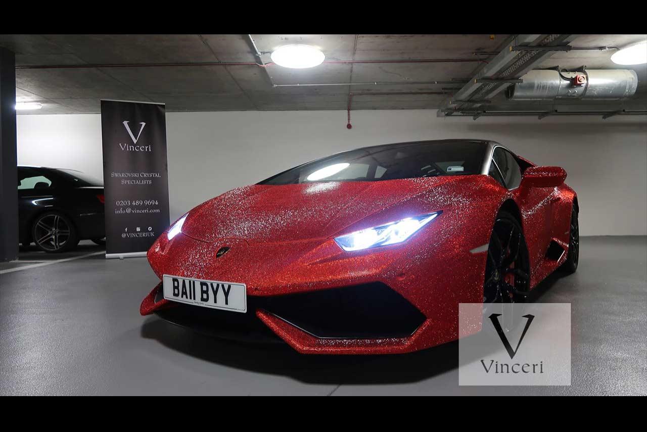 Charmant Lamborghini Huracan Daria Radionova