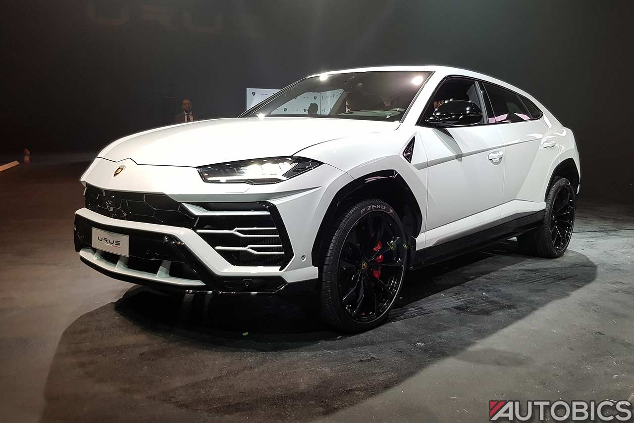 lamborghini urus priced at inr 3 crore in india autobics. Black Bedroom Furniture Sets. Home Design Ideas