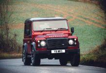 Land Rover Defender V8 70th Edition Front Quarter