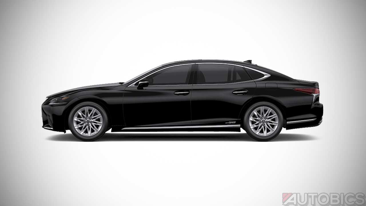 Lexus Ls500h Black 2018 Autobics