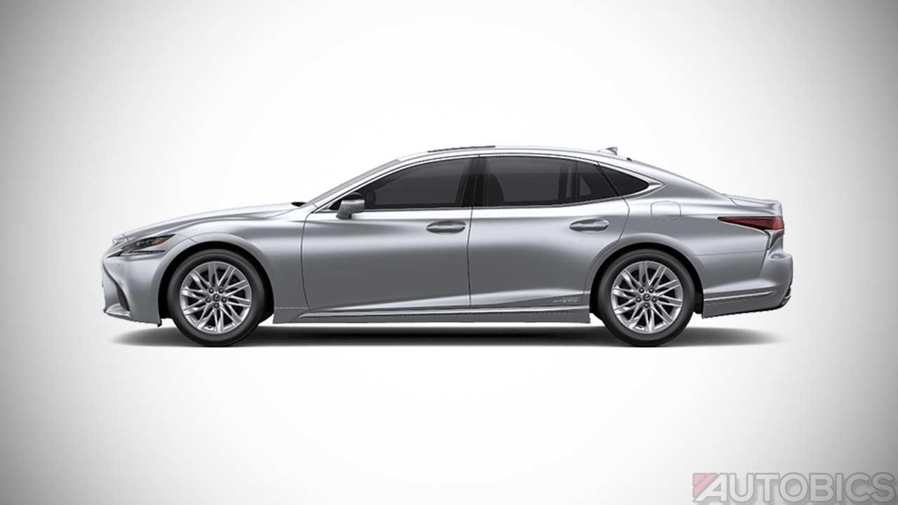 Range Rover Vs Range Rover Sport >> Lexus LS500h Sonic Silver 2018 | AUTOBICS