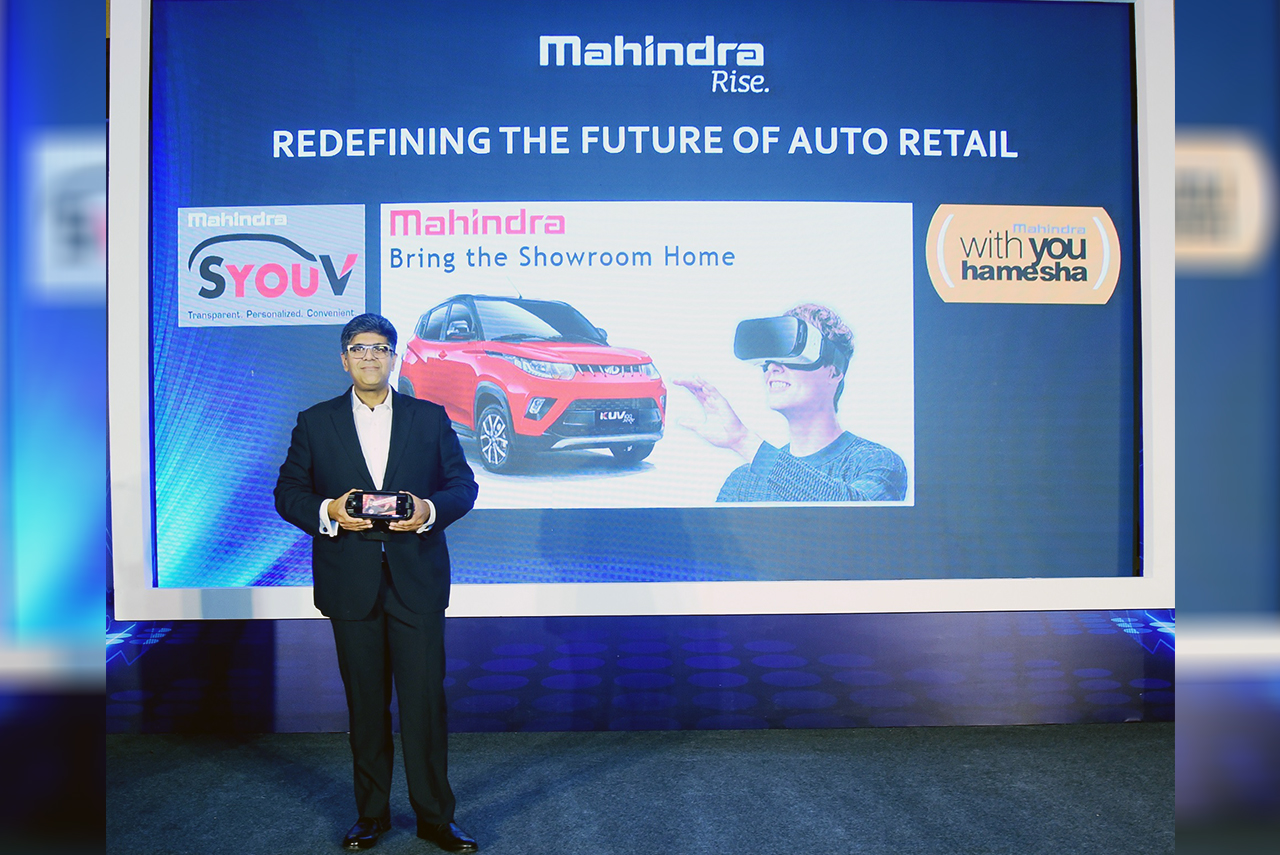 Mahindra Bring The Showroom Home Launch