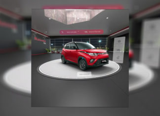 Mahindra Bring the Showroom Home KUV100
