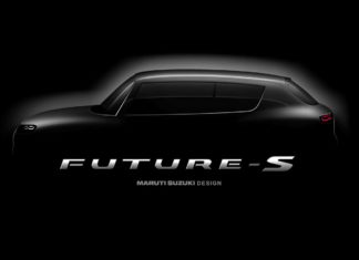 Maruti Future S Concept Teaser