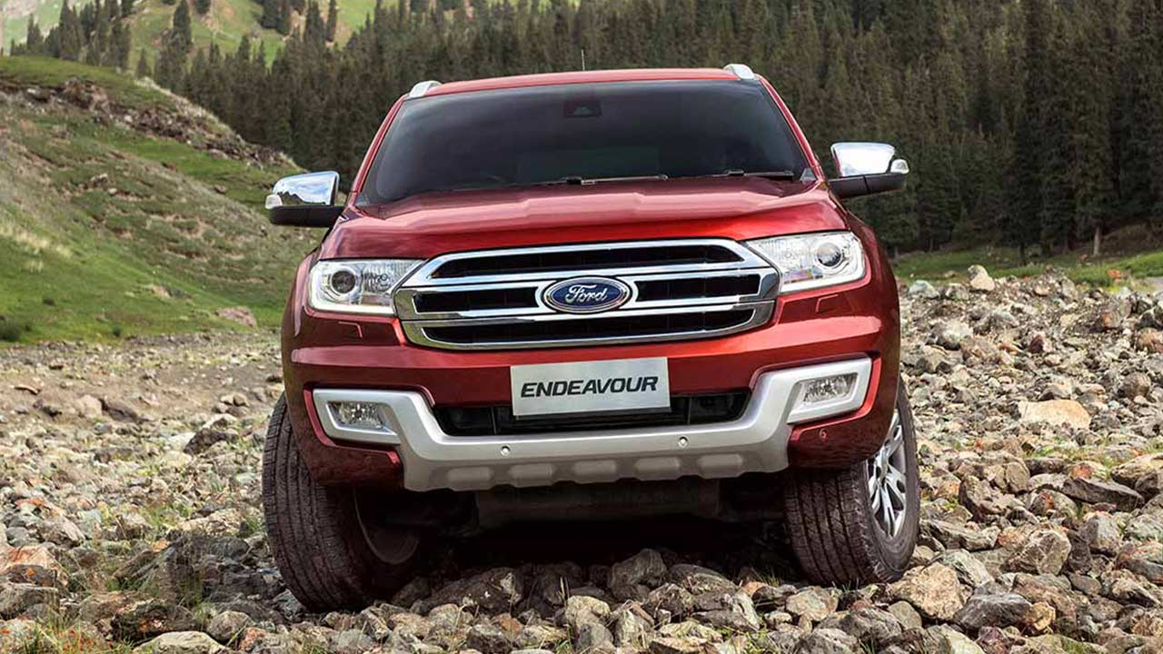 New Ford Endeavour Front Autobics