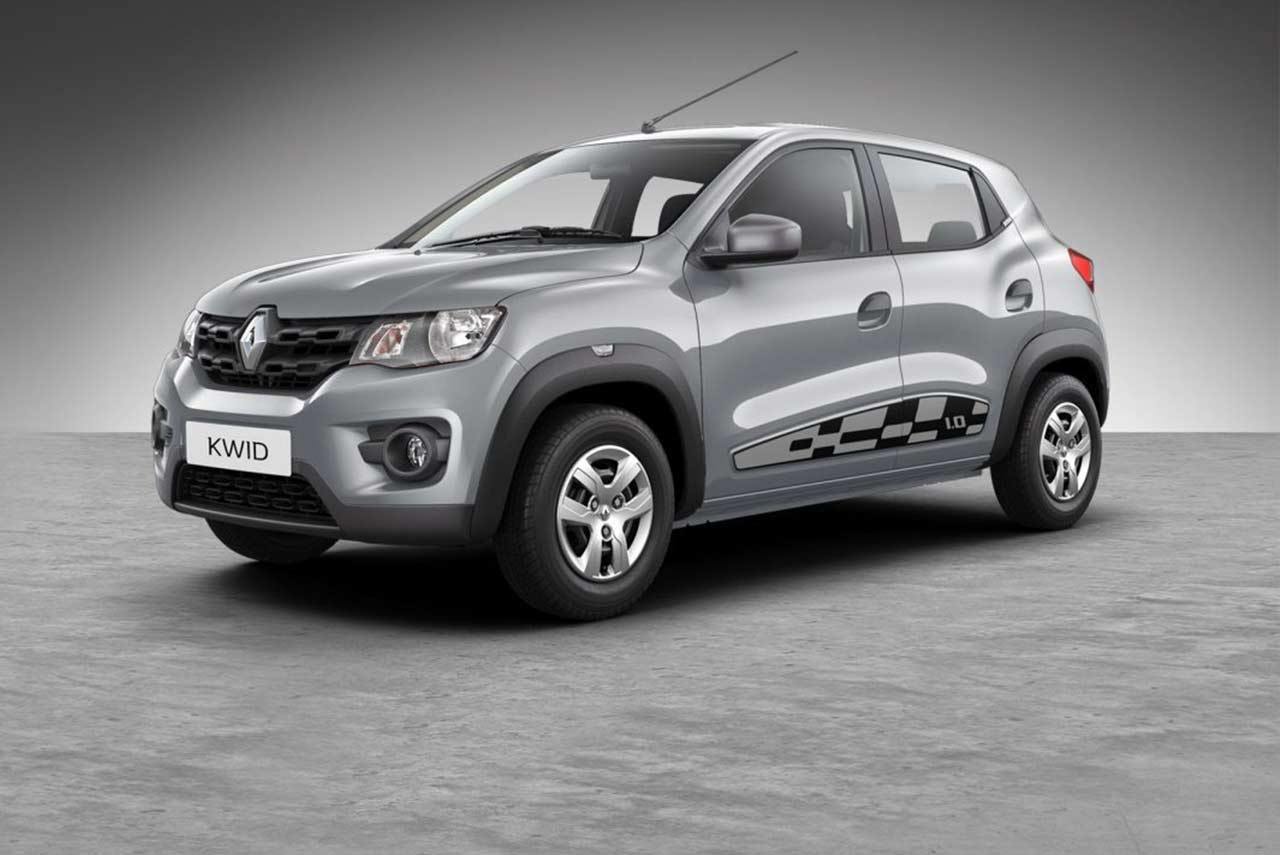 renault kwid reloaded special edition launched in india autobics. Black Bedroom Furniture Sets. Home Design Ideas