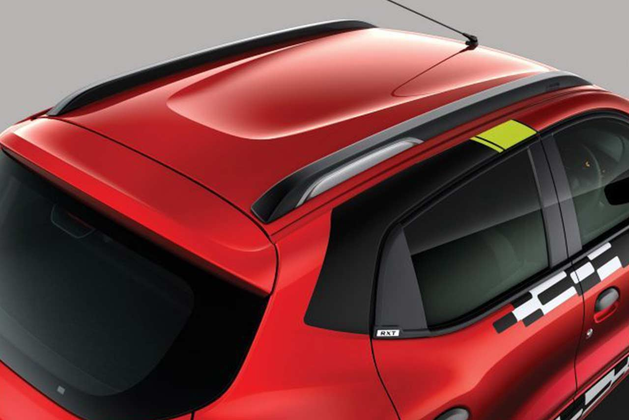 Renault Kwid Reloaded Special Edition Dual Tone Roof Rails 2018