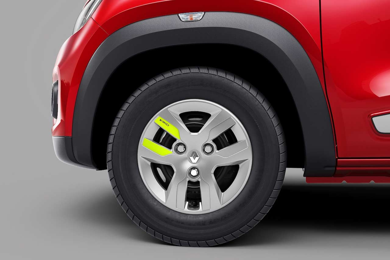 Renault Kwid Reloaded Special Edition Wheel Cap 2018