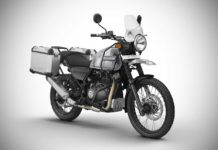 Royal Enfield Himalayan Sleet 2018 Front Quarter Studio