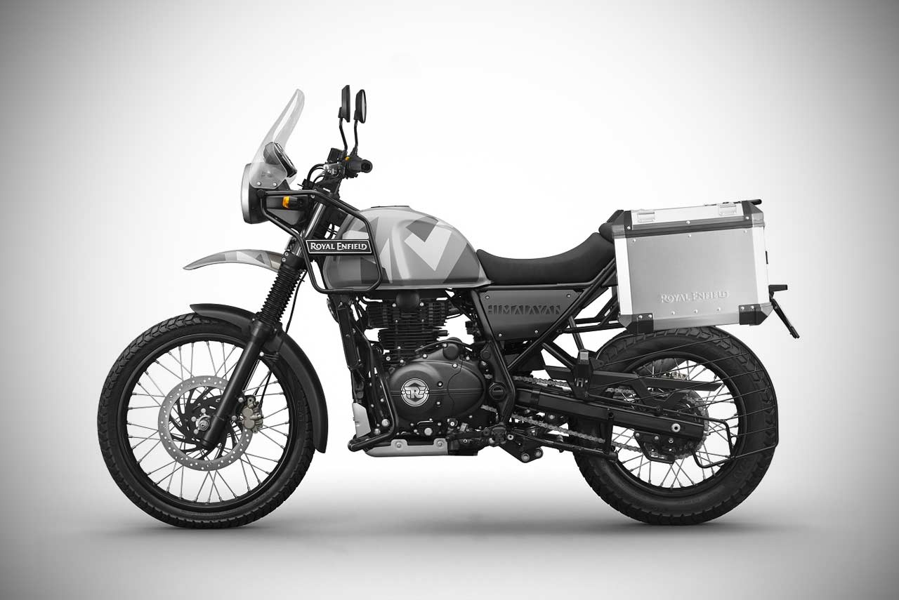 royal enfield himalayan sleet edition launched in india. Black Bedroom Furniture Sets. Home Design Ideas