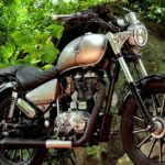 Royal Enfield Thunderbird 350 Modified JEDI Customs Front Quarter view