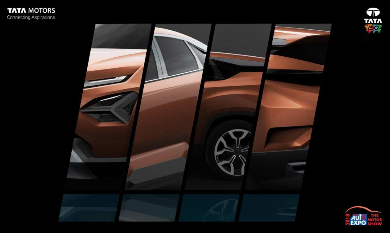 Tata Suv H5 Teaser Auto Expo 2018 Autobics