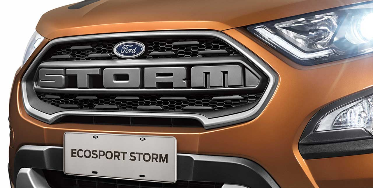 Ford Ecosport Storm Grill