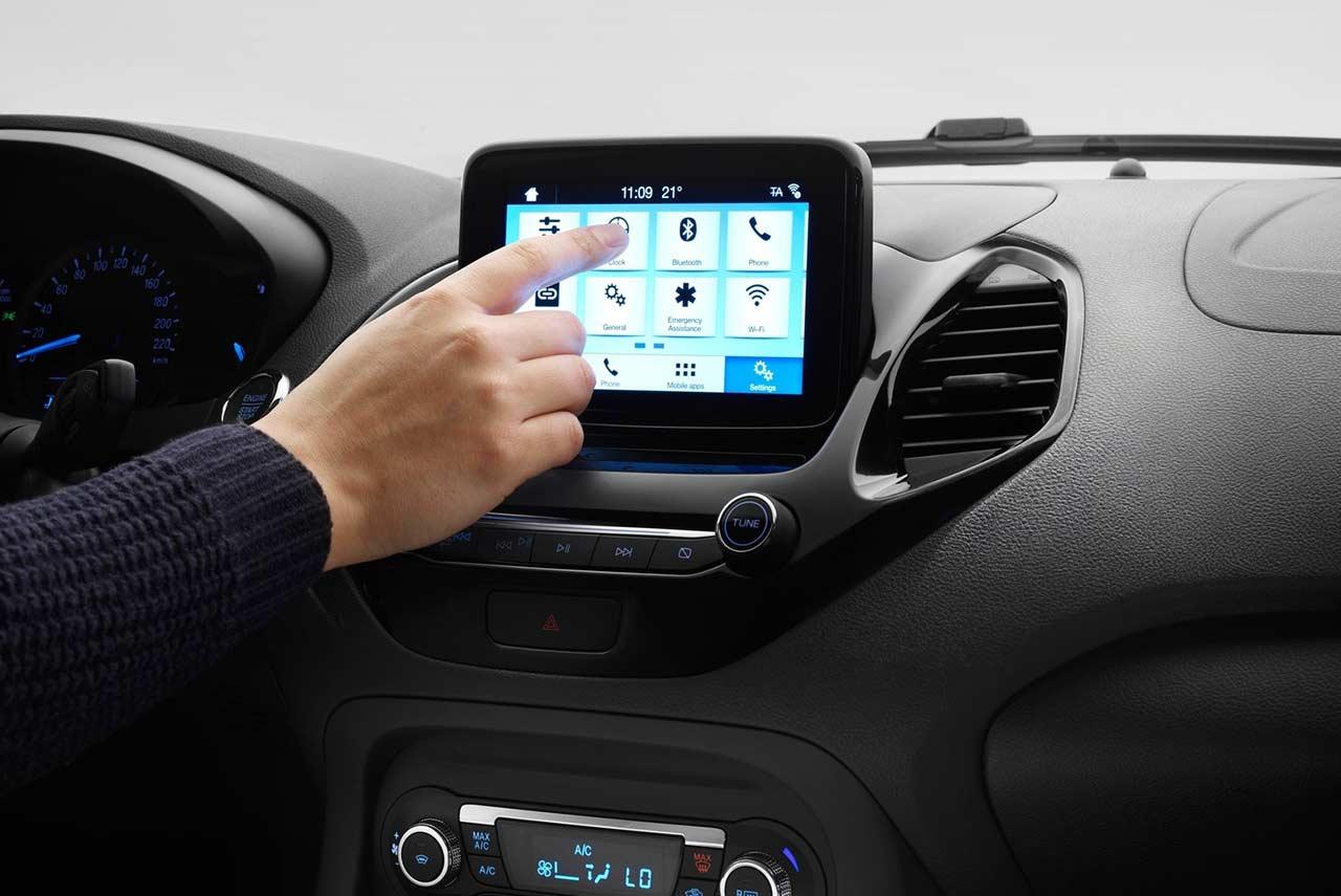 2018 Ford Ka Sync3 Touchscreen Autobics