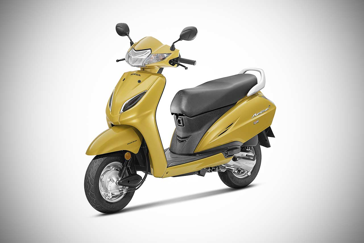 Honda Activa 5g Deluxe Unveiled At The Auto Expo 2018