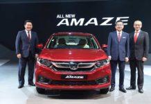 2018 Honda Amaze Global Debut Auto Expo 2018