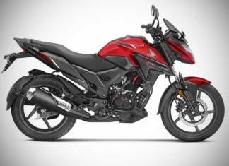 2018 Honda X-Blade Pearl Spartan Red Colour