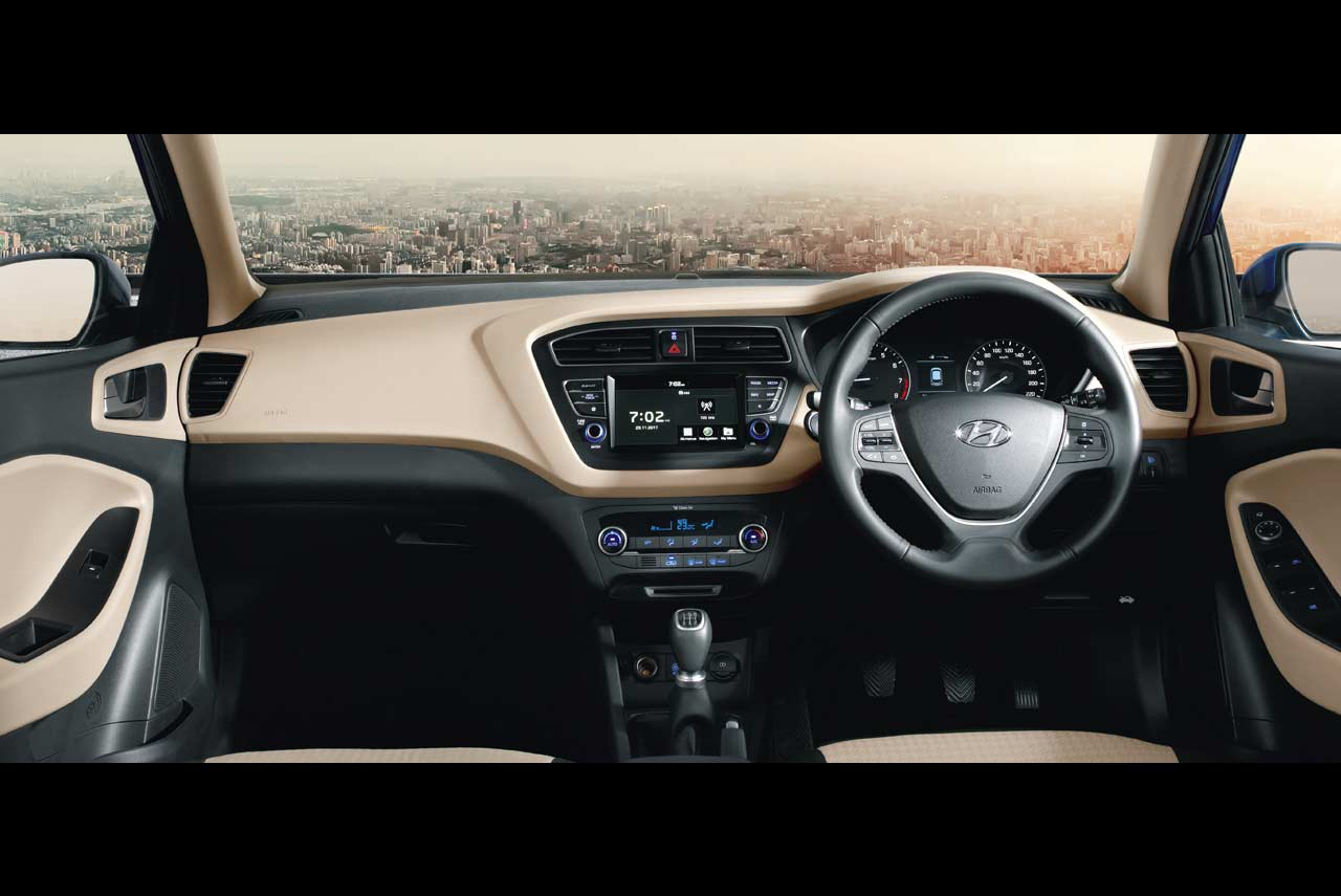 New hyundai elite i20 launched at the auto expo 2018 autobics - Hyundai i20 interior ...