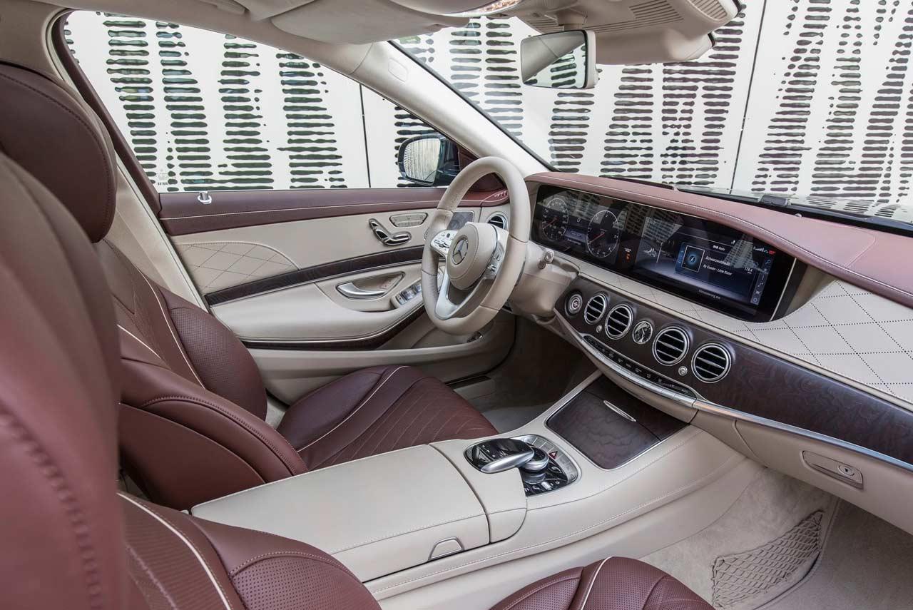 Harley Street 500 >> 2018 Mercedes-Benz S-Class Front Seats | AUTOBICS