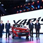 2018 Toyota Yaris Sedan India Auto Expo