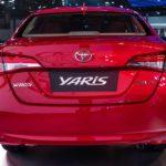 2018 Toyota Yaris Sedan India Rear