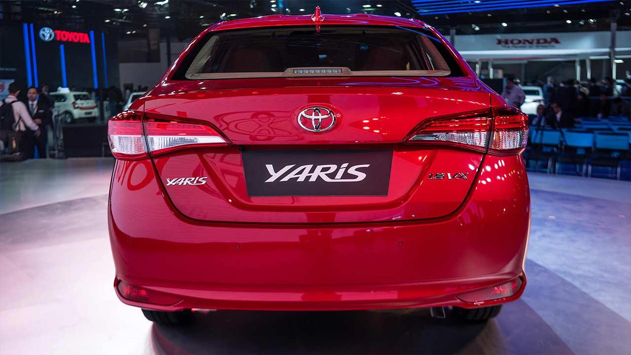 Royal South Toyota >> 2018 Toyota Yaris Sedan India Rear | AUTOBICS