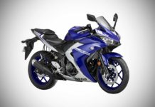 2018 Yamaha R3 Racing Blue
