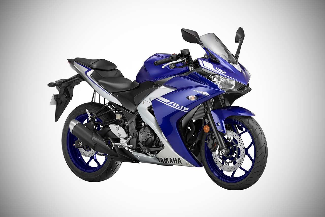2018 Yamaha R3 Racing Blue