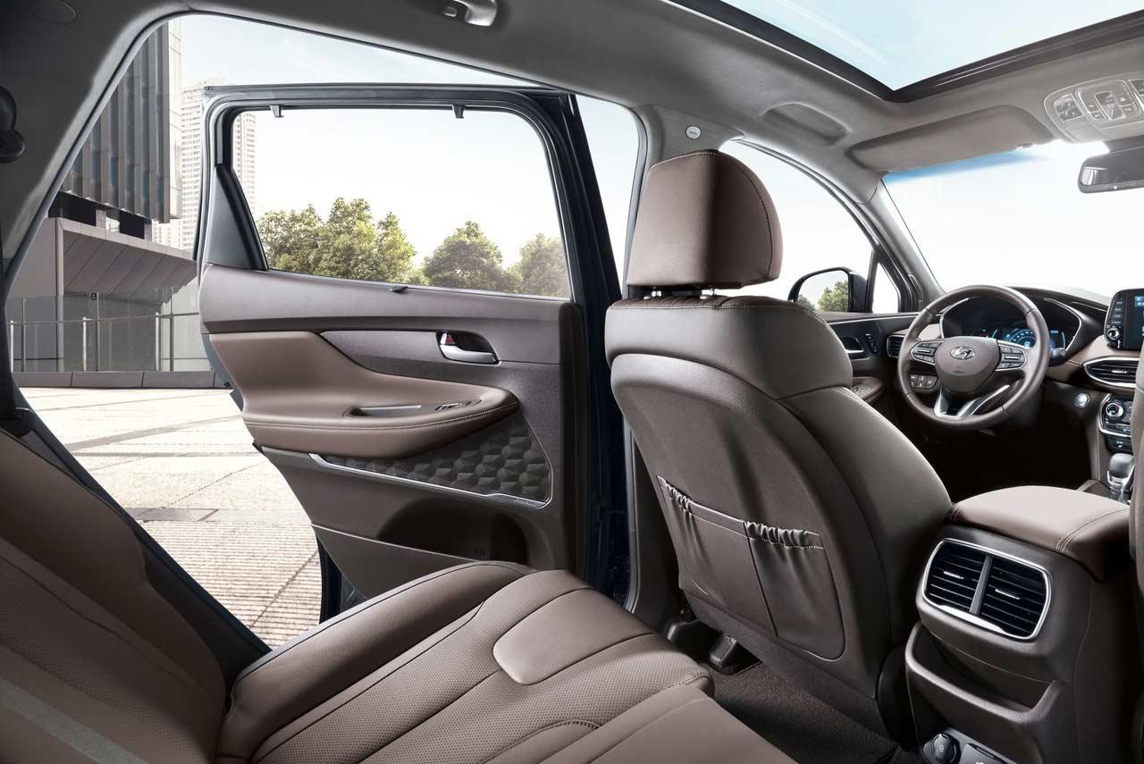 Hyundai Santa Fe Rear Seat