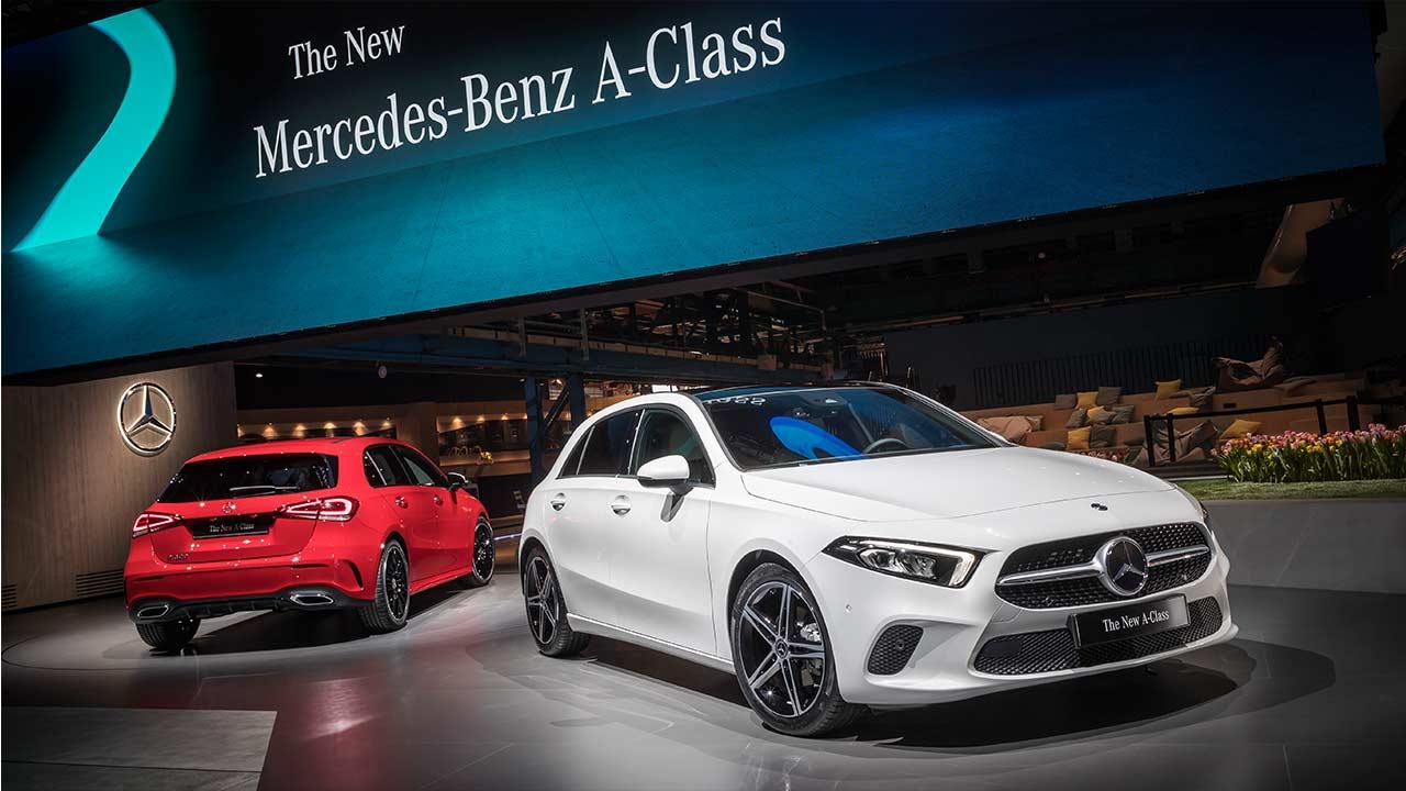 All new 2019 mercedes benz a class unveiled autobics for New mercedes benz a class