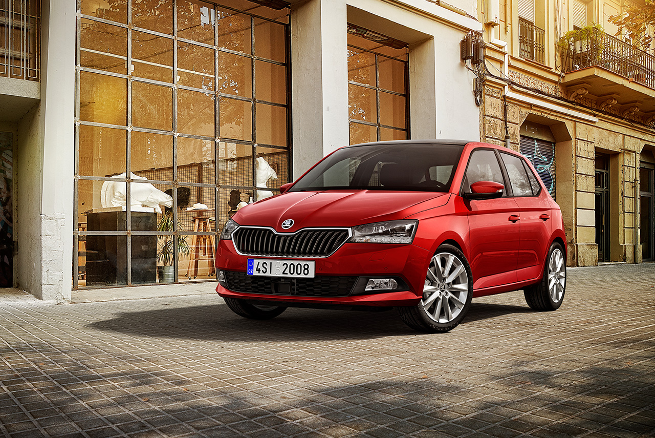 the new 2019 skoda fabia unveiled autobics. Black Bedroom Furniture Sets. Home Design Ideas