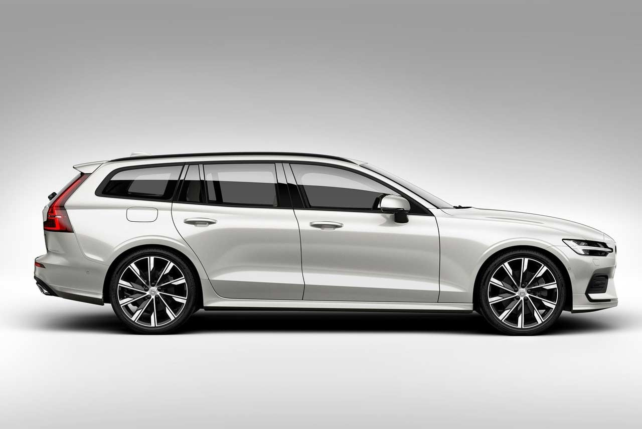 new 2019 volvo v60 mid size premium estate revealed autobics. Black Bedroom Furniture Sets. Home Design Ideas
